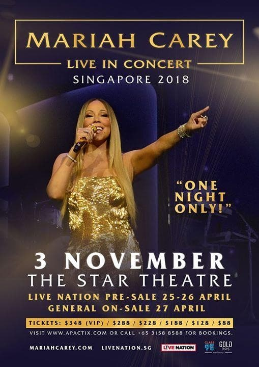 Mariah Carey Singapore Concert
