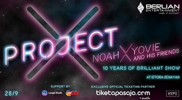 Project X-Noah x Yovie And His Friends